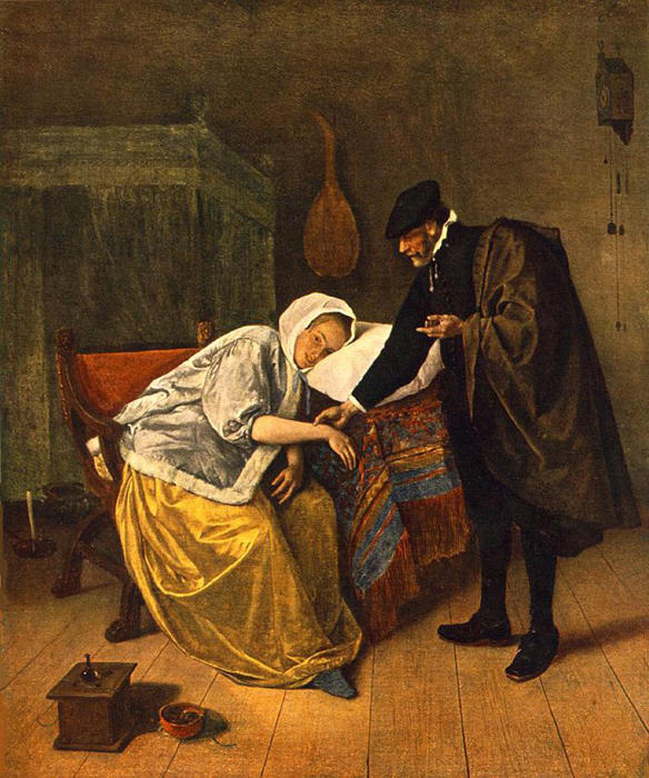 Jan Steen The Doctor and His Patient