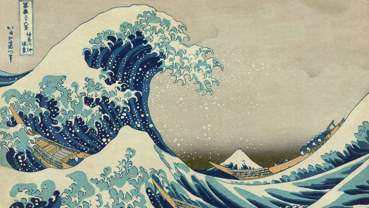 Great Wave off Kanagawa 1280