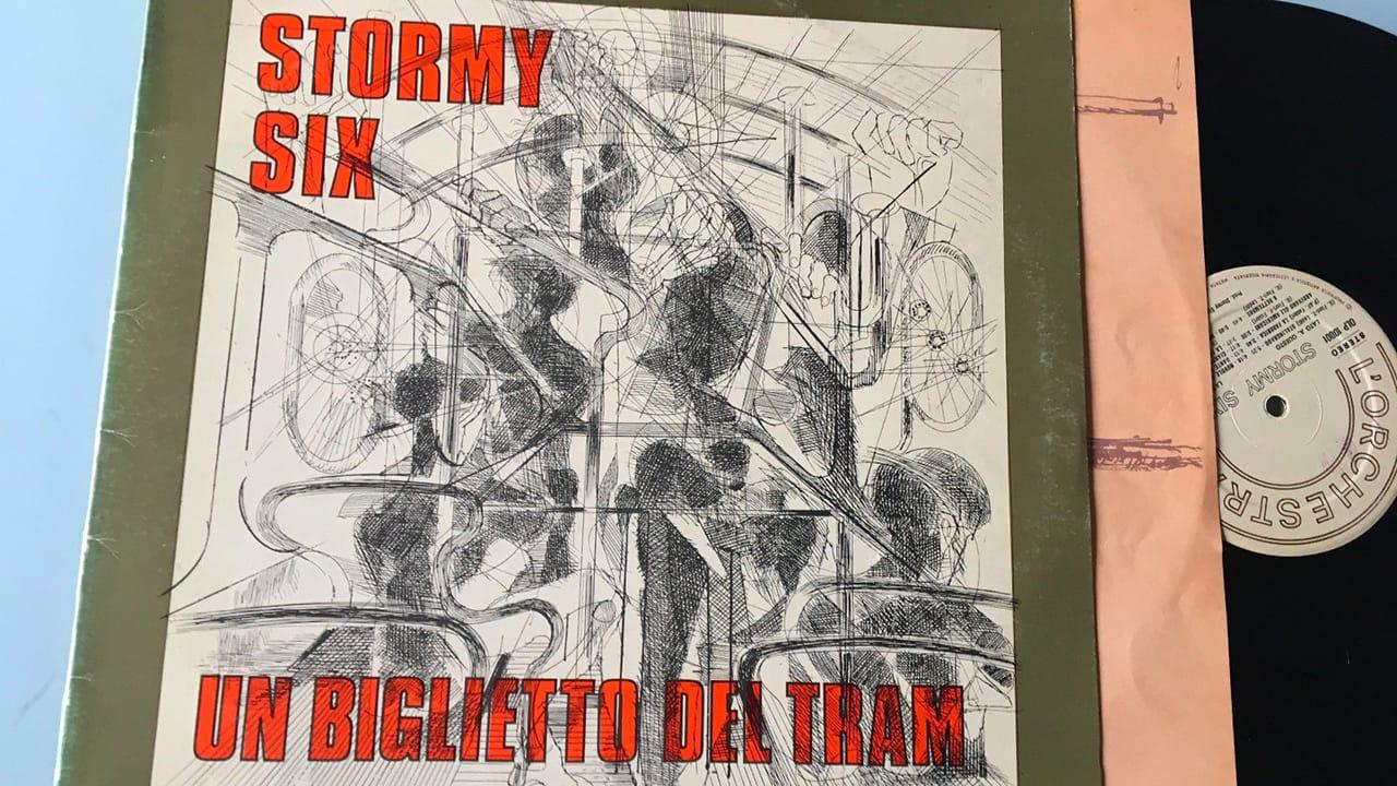 LP ITALIAN PROG 1975 Stormy Six 1280