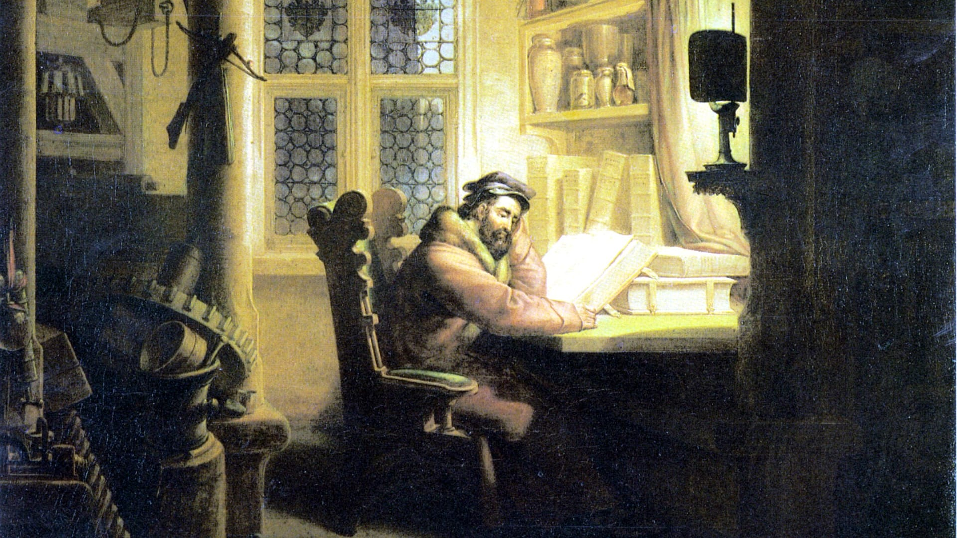 Kersting Faust im Studierzimmer 1920